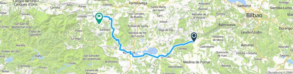 Quintana de los prados- San Sebastian de Garabandal