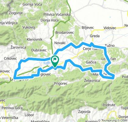 Ivanecko - Lepoglavska ruta