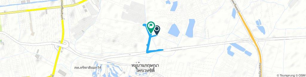 Relaxed Saturday Ride In Bangkok