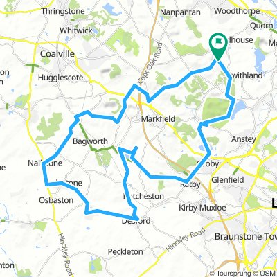 Woodhouse Eaves to Newbold Verdon Circuit