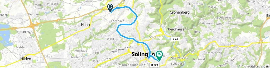 Long Samstag Ride In Solingen