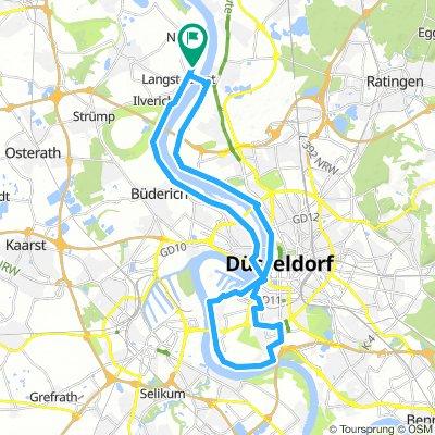 Düsseldorfer Rhein-Route