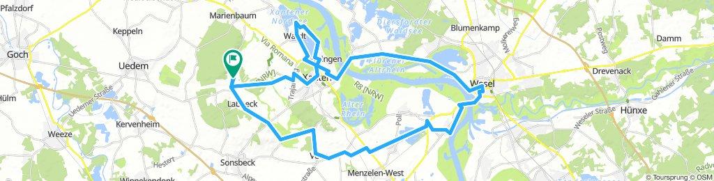 Xanthen - Wesel - Runde