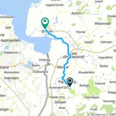 Tag 4: Papenburg - Emden