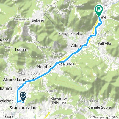 Slow Domenica Route In Cene