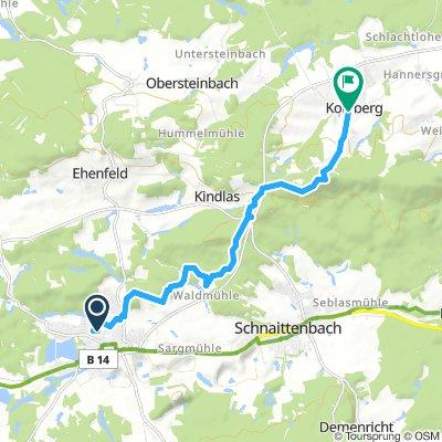 Wanderung zum Binnerlindl-Zoigl Kohlberg