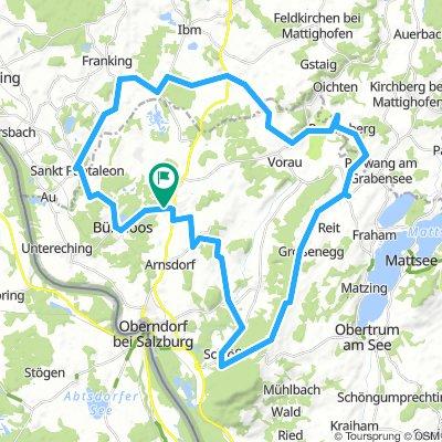 55 km Gache Nachmittagsrunde