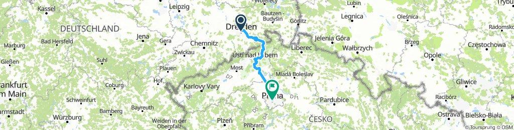Dresden - Praha