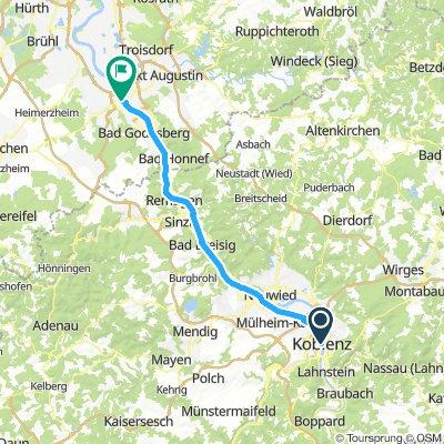 Koblenz - Bonn