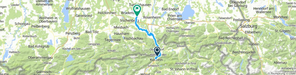 Slow Montag Ride nach Bad Aibling
