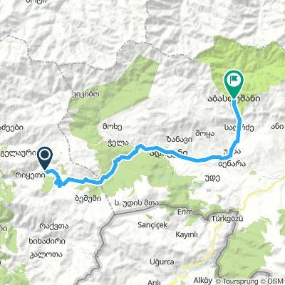 Forth Route_Batumi_Abastumani_Day 4