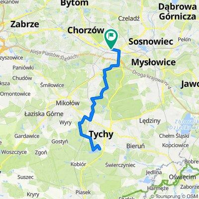 🚴🏼♂️ Katowice ➡️ Paprocany