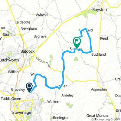 29km Therfield Loop
