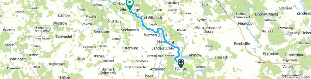 Havelradweg-Tag3-Schollene-Wittenberge