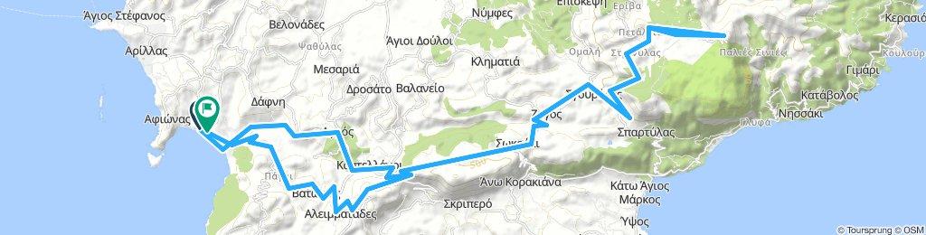 MTB Tour 4: Pantokrator, Korfus höchster Berg