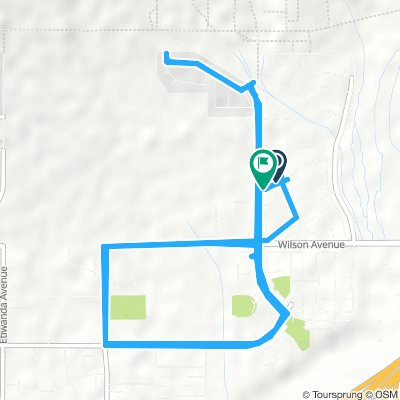 Long Morning Ride In Rancho Cucamonga