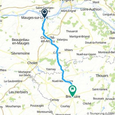 Chalonnes s/Loire - Bressuire