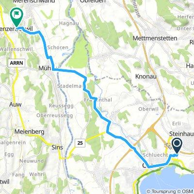 Steady Montag Ride In Benzenschwil