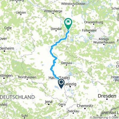 Vom Saalestrand ins Havelland