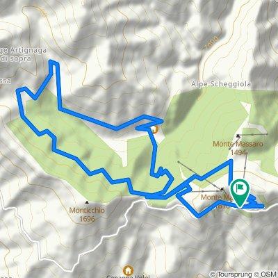 Itinerari imperdibili in mountain bike: 03. Bielmonte - Bocchetto Sessera - Piana del Ponte - Siti Archeominerari - Artignana - Alpe Moncerchio - Bielmonte