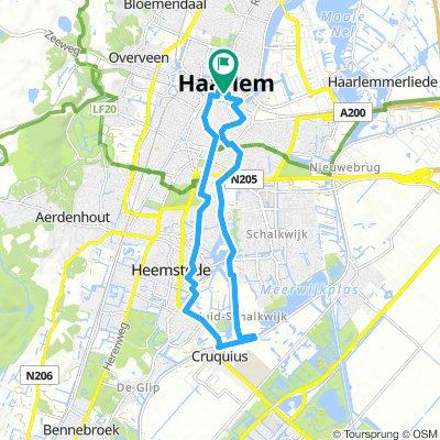 Haarlem (NL) - Ijumuiden (NL) Hafen | Bikemap - Your bike routes