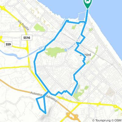 Rimini, dal mare alla collina in bicicletta (Facile)