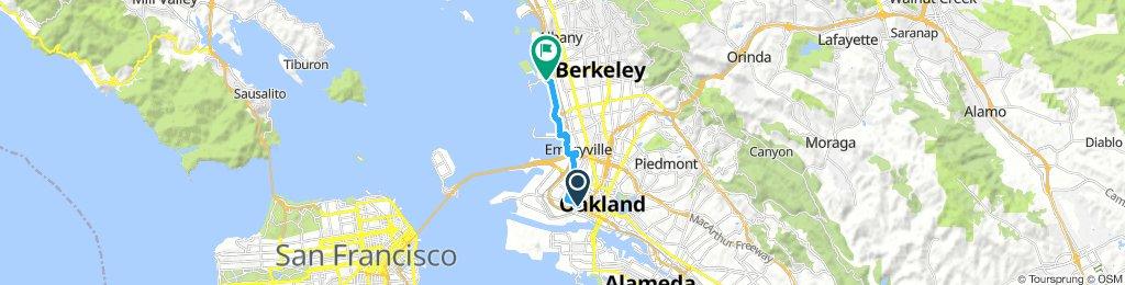 West Oakland to Seabreeze Market