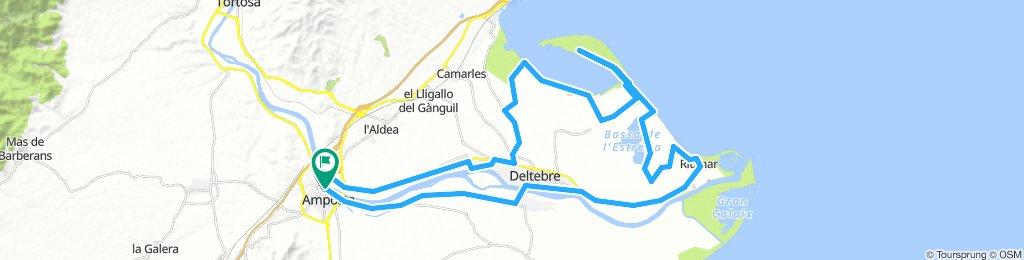 Parques Delta Ebro norte