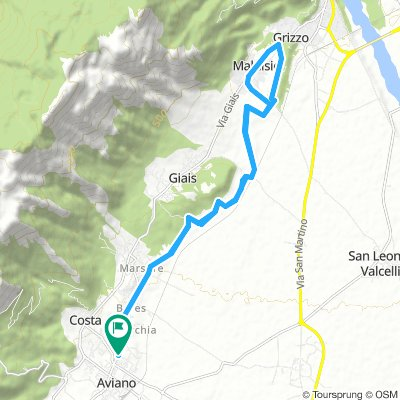 Easy Morning Course In Aviano