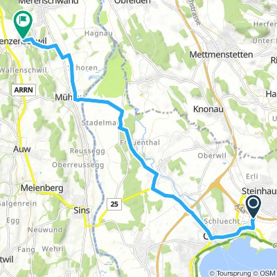 Long Freitag Route In Benzenschwil