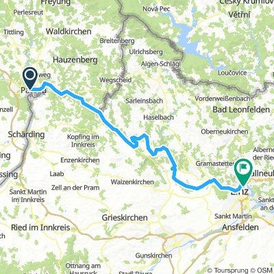 Etappe 3 - Passau - Linz