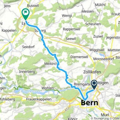 Wankdorf-Lyss via Ziegelried