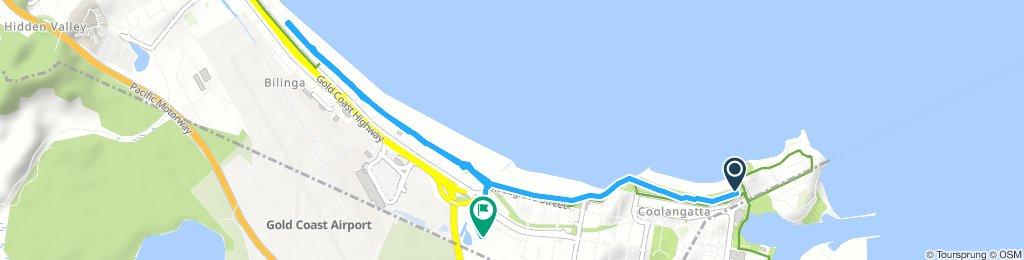Steady Saturday Track In Coolangatta