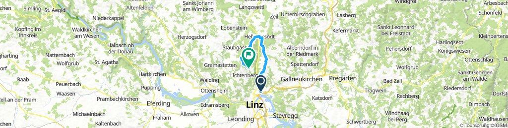 GIS über Oberbairing-Hellmonsödt