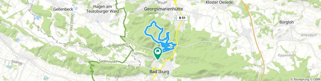 Bad Iburg - 15 km