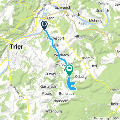 Trier - Riveris Talsperre