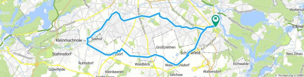 Grünau-Gropiusst.-Mariendorf-Lankwitz-Lichterfelde-Teltow-Grünau