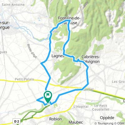 Robion ↻ Fontaine de Vaucluse