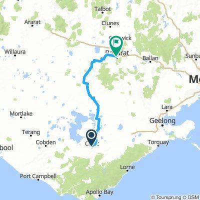 FHB Colac to Ballarat, leg 5