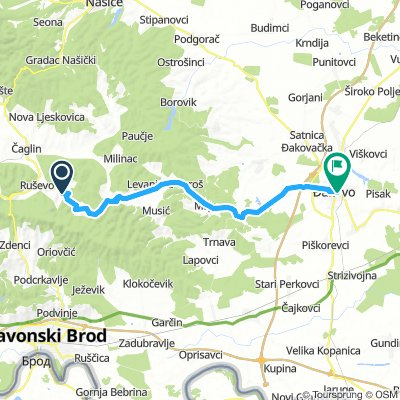 Slawonien Tag 1: Sovski Dol - Dakovo