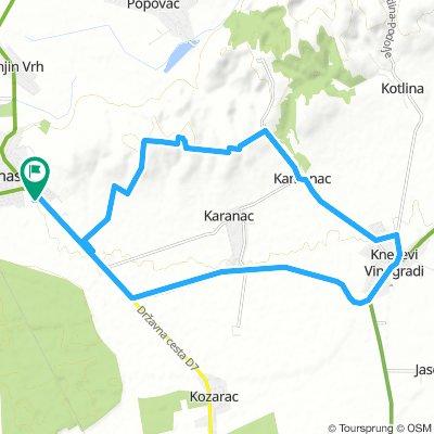 Slawonien Tag 2: Rund um Beli Manastir