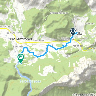 Spred Out Montag Route In Bad Mitterndorf