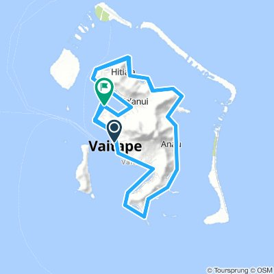Cycling Routes And Bike Maps In And Around Vaitape Bikemap