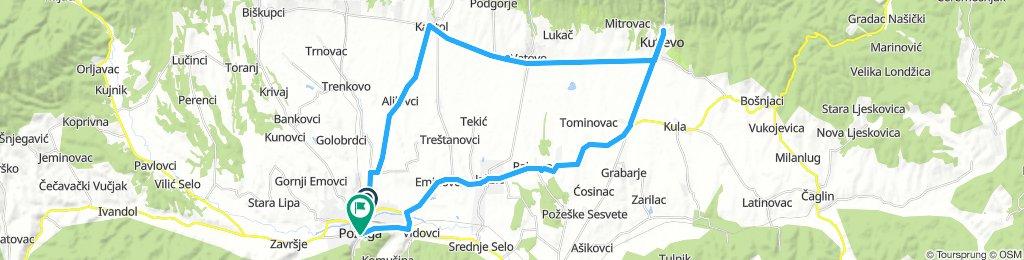 Slawonien Tag 6: Pozega - Kutjevo - Pozega