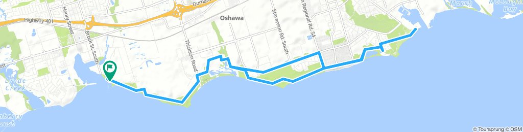 Port Whitby to Oshawa Pier: Waterfront Trail
