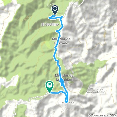 Extensive Mittwoch Route In Málaga