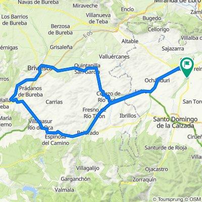 Belorado- Villafranca- Briviesca- Cerezo