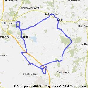 Traingsrunde Sparrieshooper 70km