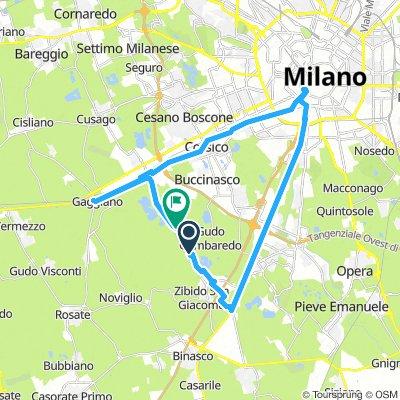 Milano, Gaggiano, Zibido San Giacomo, Milano