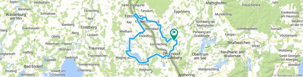 75 km Coole abwechslungsreiche Tour